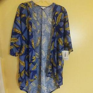 LuLaRoe Lindsay Kimono Jacket Sparkly Chenille S